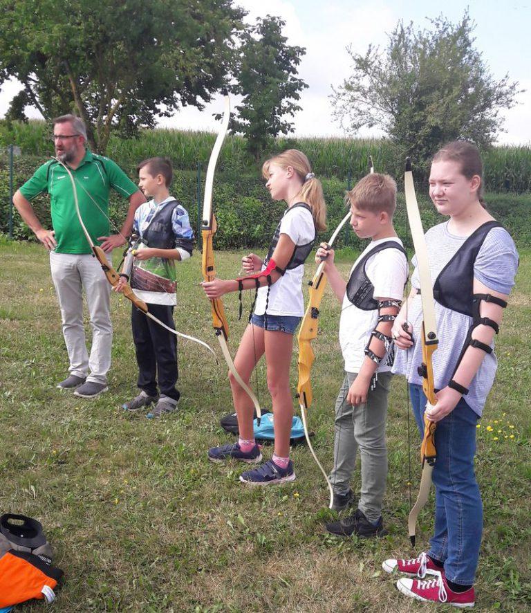 Ferienprogramm 2019 auf dem Bogenplatz am Kammerer Berg