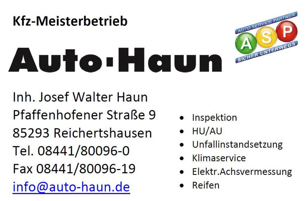 Sponsor Auto Haun