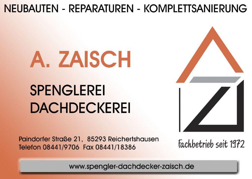 Sponsor Spenglerei Dachdeckerei A. Zaisch