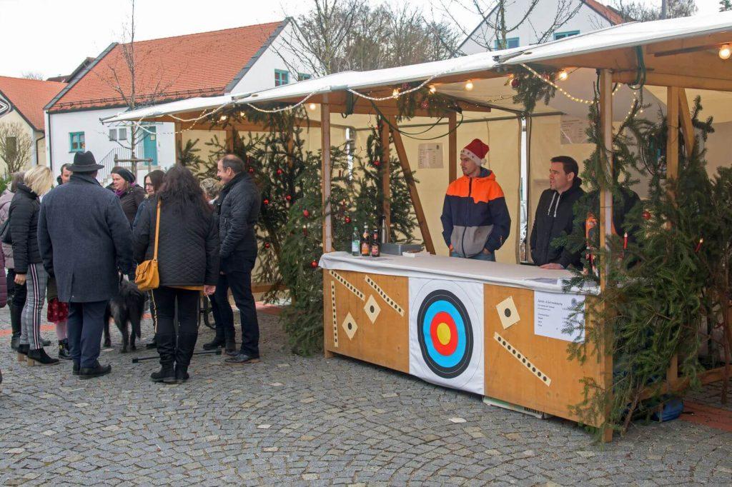 Unser Stand auf dem Christkindlmarkt in Reichertshausen